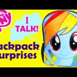My Little Pony Rainbow Dash Backpack Surprises with Frozen