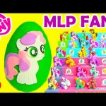 My Little Pony Sweetie Belle Play Doh Surprise Egg Plus Wave 11 and Wave 12