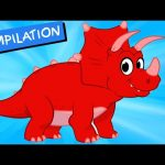 My Pet Dinosaur: Triceratops –  (+ Dinosaur compilation) My Magic Pet Morphle Episode #27