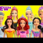 *New* Disney Princess Doll Collection Exclusive Jasmine, Ariel, and More