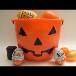 NEW HUGE HALLOWEEN Collection of Surprise Eggs with Kinder Surprise and lots of Toys!
