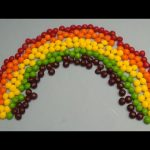 New Learn Colours with Surprise Eggs and a Skittles Rainbow! Part 3