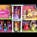 New Sofia Royal Prep Academy School Playset Disney Princess Sofia the First Magical Talking Castle