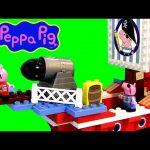 Nickelodeon Peppa Pig PIRATE SHIP LEGO Building Construction Blocks – Barco Pirata de Pig George