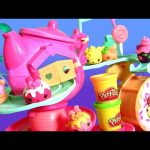 Num Noms Go-Go Cafe Playground Playset Play Doh Mystery Surprise Boxes NumNoms Spinning Donut Wheel