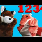 Numbers counting 1 to 10. Video for toddlers, kindergarten and kids.Learn  with two funny foxes