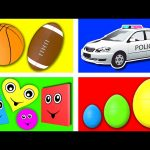 Nursery School Collection – Animated SURPRISE EGGS Cartoon, Learning Video for Kids Baby Toddler