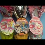 Opening 3 JUMBO Surprise Eggs! Disney Princess, Star Wars, and Hello Kitty!
