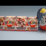Opening a Valentine's Day Transformers Kinder Surprise Egg Train! And a Giant Kinder Surprise Egg!