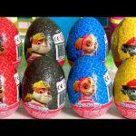 Paw Patrol Surprise Eggs Skye Marshall Chase – Ovetti Sorpresa Patrulla de Cachorros Dolci Preziosi
