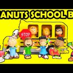 Peanuts Movie Charlie Brown's School Bus and Collectors Set