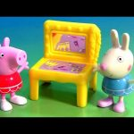 Peppa Pig Dance Ballet Recital with Surprise Table Rebecca Rabbit Nickelodeon by FunToys