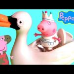 Peppa Pig Fairy Tale Swan Once Upon a Time Collection Play Doh Surprise Eggs – Cisne Cuento de Hadas