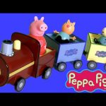Peppa Pig Pull-Along Wobbily Train Nickelodeon Weebles Wobbly ♥ Il Treno di Nonno Pig