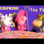 Peppa Pig Storytime Tea Party Playset Once Upon a Time Fairy Tale Surprise – Play Doh Juego de Té