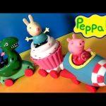 Peppa Pig Theme Park Train Ride With Dinosaur Play Doh – Trenecito de juguete Dinosaurio Nickelodeon