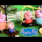 Peppa Pig Zipline Playground Muddy Puddles Tirolesa Play Doh Tyrolienne Nickelodeon Disneycollector