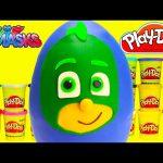 PJ Masks Gekko Play Doh Surprise Egg with Shopkins Season 5