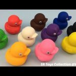 Play and Learn Colours with Playdough Ducks with Fruit Molds Fun for Kids