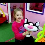 Play area for kids. Kids  playing. Funny video from KIDS TOYS CHANNEL