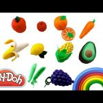 Play Doh Fruit & Vegetables | MLP LPS Shopkins Lalaloopsy Minions RainbowLearning