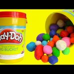Play Doh Giant Bucket of Surprises LEARN Colors with Paw Patrol, Shopkins, and More