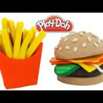 Play-Doh How to Make a Kids Happy Meal * Creative Fun for Kids DIY * RainbowLearning
