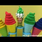 Play Doh Ice Cream Surprise Toy Tom and Jerry The Good Dinosaur Peppa Pig and Minion