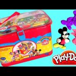 PLAY DOH Mickey Mouse Clubhouse SURPRISE BOX Minnie Mouse, Goofy, Pluto, Donald Duck, Daisy Duck