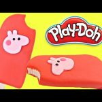 Play doh Popsicle Peppa Pig   How To Make Playdough Popsicle PeppaPig