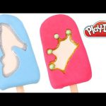 Play Doh Princess Popsicle by DCTC. How to make Princess Popsicles with play-doh