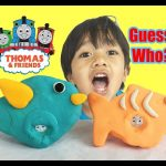 PLAY DOH THOMAS & FRIENDS GUESSING GAME! Guess the Engine Surprise Thomas the  Engine learning game