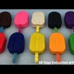 Play Dough Ice Cream with Molds Fun and Creative for Kids