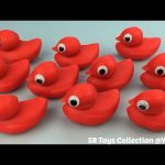 Playdough Red Ducks with Fish Molds Fun and Creative for Children