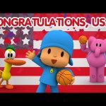 Pocoyo Basketball Worldcup: CONGRATULATIONS USA!
