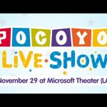 Pocoyo Live! November 29 at Microsoft Theater – Los Angeles