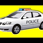 POLICE CAR Collection 1 HOUR – Police Cars and Trucks for Kids Toddler Baby to Learn Colors & More!