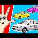 POLICE CAR Finger Family | Finger Family Song | Surprise Eggs | Nursery Rhymes | Songs for Children