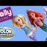 Polly Pocket Mermaid Color Changing Doll Princess Ariel Disney The Little Mermaid Cutant Changers