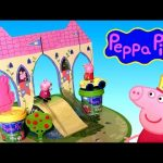 Princess Peppa Pig Castle Play Dough Playset – Make Princess Peppa George Dinosaur with Play Doh
