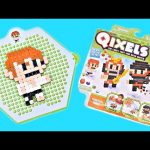 Qixels Martial Arts Kit – Pixel Cube Toy Character Creator New DCTC Toy Review 2016