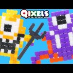 Qixels Monster Kit – Pixel Cube Toy Character Creator New DCTC Toy Review 2016