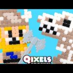 Qixels Turbo Dryer – Pixel Cube Toy Character Creator New DCTC Toy Review 2016