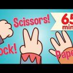 Rock Scissors Paper + More | Kids Songs & Nursery Rhymes | Super Simple Songs