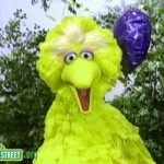 Sesame Street: Happy / Sad Balloons with Big Bird and Telly Monster
