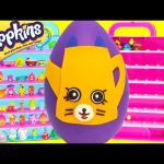 Shopkins Limited Edition Hunt Petkin Drips Play Doh Surprise Egg Toy Genie