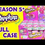 Shopkins Season 5 Petkins Backpack Blind Bags Full Case
