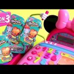 Shopkins Season3 Surprise Using Minnie Mouse Cash Register – Caja Registradora