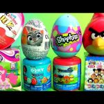 Shopkins SURPRISE EGGS My Little Pony Disney Tsum Tsum Mashems Paw Patrol Zootopia MLP Kids toys