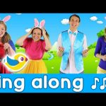 Sing Along – Hippity Hop – Counting Easter Eggs – with lyrics!